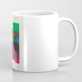 Shapes of Philadelphia accurate to scale Coffee Mug