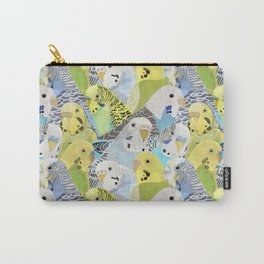 Budgie Parakeets Carry-All Pouch