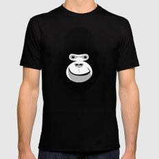 gorilla face Black 2X-LARGE Mens Fitted Tee