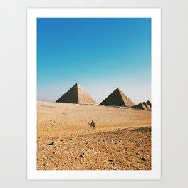 The Great Pyramid Art Print