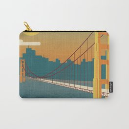 Golden Gate Bridge, San Francisco, California Carry-All Pouch