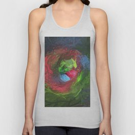 Abstract Mandala 94 Unisex Tank Top
