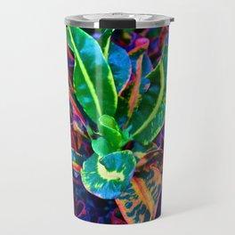 Psychedelic Lettuce Travel Mug