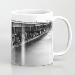 Pier black white Coffee Mug