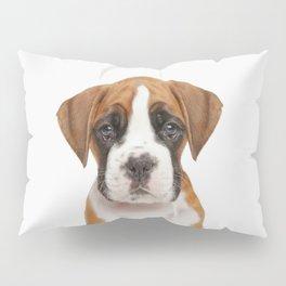 German Boxer Puppy Pillow Sham