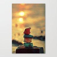 zen Canvas Prints featuring Zen by teddynash