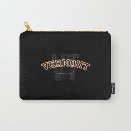 Vermont Vintage Retro Collegiate Carry-All Pouch