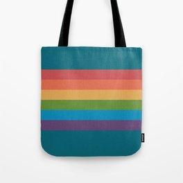 Indigo Rainbow Tote Bag