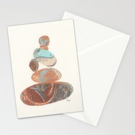 Pebbled Balance IV Stationery Cards