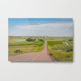 Country Road, Turtle Lake, North Dakota 2 Metal Print