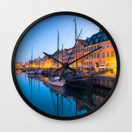 COPENHAGEN 07 Wall Clock