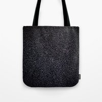 furry Tote Bags featuring Furry Wood by Ben Bauchau