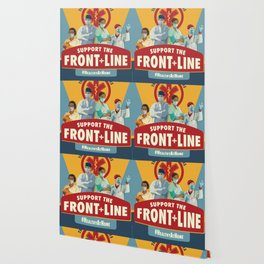 Support the Front Line Wallpaper