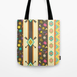 Aztec Pattern 3 Tote Bag