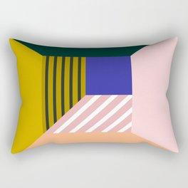 Abstract room b Rectangular Pillow