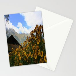 Daisies and Alps Stationery Cards
