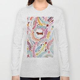 teckel love Long Sleeve T-shirt