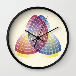 Charles Lacouture's Trilobe synoptique re-make 1890 Wall Clock