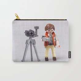 Photographer man. Playmobil Carry-All Pouch
