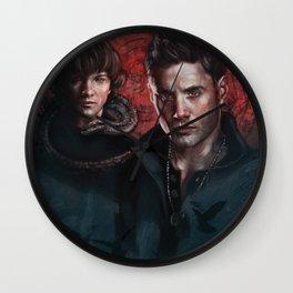 Supernatural Sam, Dean and Castiel Wall Clock