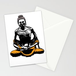 Starving Buddha Stationery Cards