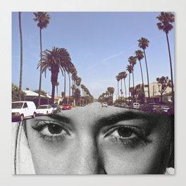 Sofi California Canvas Print