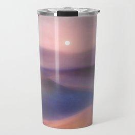Minimal abstract landscape II Travel Mug