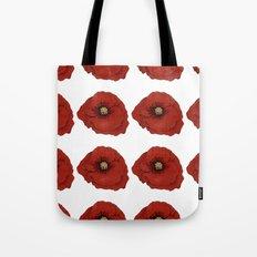I Adore Poppies Tote Bag