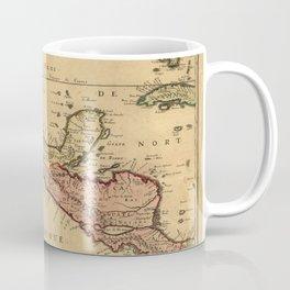 Map Of Central America 1656 Coffee Mug