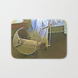 Once Upon a Time - Pram in the Nursery Bath Mat