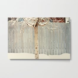snow tree Metal Print