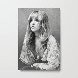 Stevie Nicks Poster, Fleet-wood mac poster Metal Print