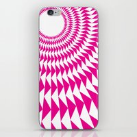 rave iPhone & iPod Skins featuring rave up by modernfred