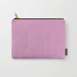 Solid Color Dark Pastel Pink Pairs to Pantone 15-2913 Lilac Chiffon Carry-All Pouch