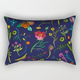 Floral love I pattern Rectangular Pillow
