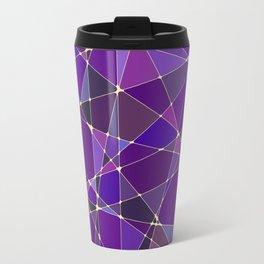 Constellation Purple Travel Mug