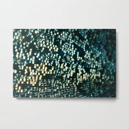 Shattered Glass Metal Print