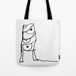 I Stack Tote Bag