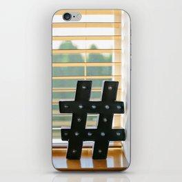 Marquee Millennial iPhone Skin