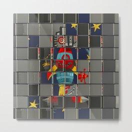 Alien Mosaic № 003 Metal Print