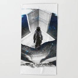 Astronaut Isolation Beach Towel
