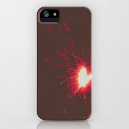 Exploding Heart iPhone Case