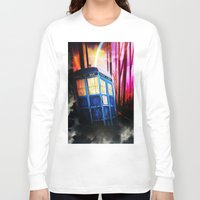 dr who Long Sleeve T-shirts featuring dr who by shannon's art space