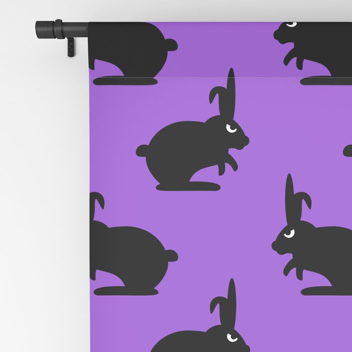 Angry Animals: Bunny Blackout Curtain