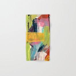 Hopeful[2] - a bright mixed media abstract piece Hand & Bath Towel