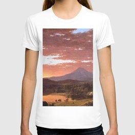 Mount Katahdin, Maine by Frederic Irwin Church T-shirt