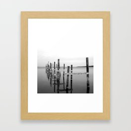 Reflection // Traverse City, Lake Michigan. Framed Art Print