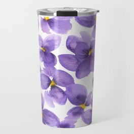 Violets are blue Travel Mug