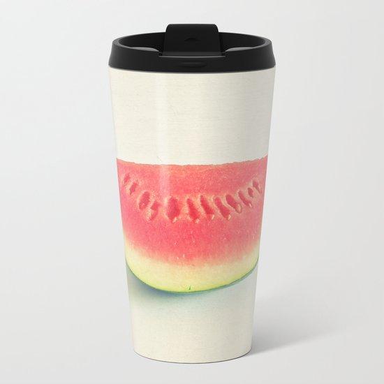 Watermelon Metal Travel Mug