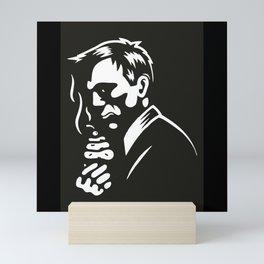 Man Mini Art Print